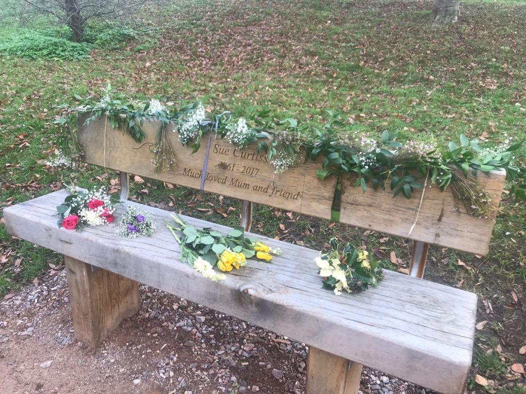 Sue's bench